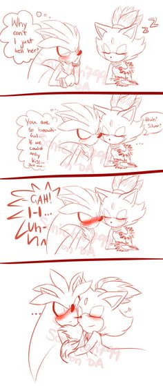 """STARTING 2015 WITH SOME SILVAZE!! because """"something cute"""" won the pool well, I drew this because I think is cute or something lol I was on a dilemma about this or hurt Silver a little bit XD okay,..."""