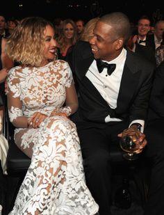 Beyoncé and Jay Z's Grammys 2014