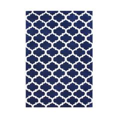 The Conestoga Trading Co. Willowcreek Hand-Tufted White/Blue Area Rug Rug Size: x Navy And White Living Room, Navy And White Rug, Navy Rug, White Area Rug, Blue Area Rugs, Affordable Area Rugs, Hand Tufted Rugs, Throw Rugs, Cool Rugs