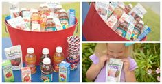 JUST A REMINDER- to get some juices for the kids!! 5 Easy Ideas for the BEST Backyard Party