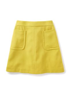 Yummy, it's that colour again! Gorgeous! Boden Julia Patch Skirt. #NewBritish