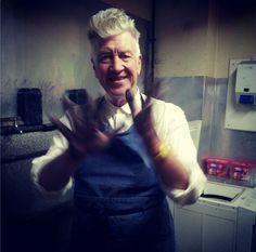 David Lynch: Works on Paper Photos from Jennifer Lynch's Instagram