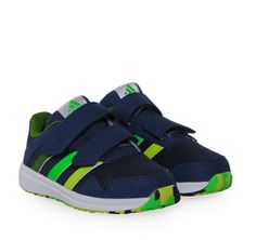 ADIDAS (AF4358.SNICE 4CFI) Blue Sneakers for Boys With Double Velcro.  Παιδικά 24fc8ec0760