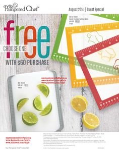FREE for August 2014 Guest Special with $60 purchase....yeah!