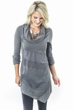 NEON BUDDHA : Evereve // sweatshirt dress tunic