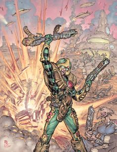 Strontium Dog - NO SURRENDER! by Boo Cook