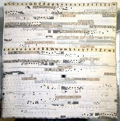 """Sarah Neuburger ~the meandering line quilt 75"""" x 75"""" aka the small object on Flickr"""