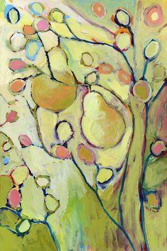 Pear Tree 12 x 18 Fine Art Print. $65.00, via Etsy.