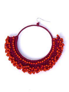 how to crochet earrings - Αναζήτηση Google