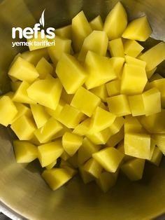 Köz Biberli Ve Soslu Enfes Patates Salatası - Nefis Yemek Tarifleri Mango, Fruit, Food, Manga, Meals