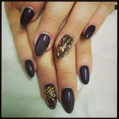 Golden crunch Nails, Beauty, Finger Nails, Ongles, Beauty Illustration, Nail, Nail Manicure