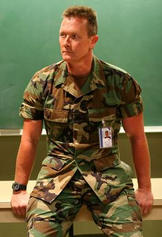 "Robert Patrick as Brigadier General Thomas Ryan (Call sign ""Blue Iguana"") on ""The Unit"" Callum Keith Rennie, Scott Foley, Star Show, The Expendables, Men In Uniform, Great Films, Black Ops, Classic Tv, Dream Team"