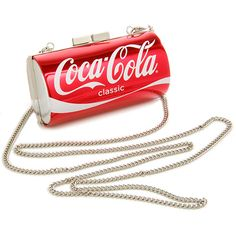 Coca-Cola Can Purse, A spacious design holds essential items without being a burden, while a modernized look of beveled edges combines comfort and style.