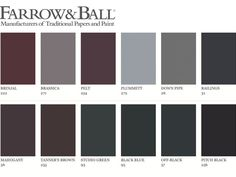 Color: a dark wall Source by jibrilo Exterior Door Colors, Exterior Paint, Interior And Exterior, Room Colors, Wall Colors, Paint Colors, Farrow And Ball Paint, Farrow Ball, Annie Sloan Chalk Paint Projects