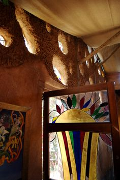 Cob House in Cullinan South Africa built by Marcella de Boom