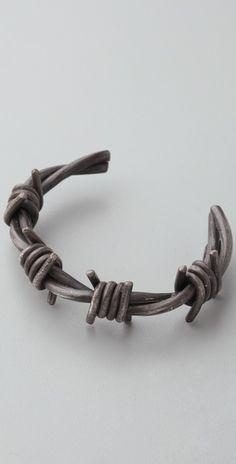 barb wire cuff.