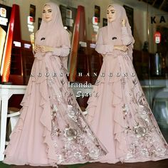 New skirt party outfit maxi ideas Abaya Designs, Kurti Designs Party Wear, Muslim Dress, Hijab Dress, Simple Long Dress, Abaya Fashion, Women's Fashion, Batik Dress, Pakistani Dresses
