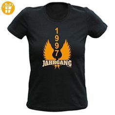 Girlie T-Shirt zum 20. Geburtstag 1997 Jahrgang Geschenk zum 20. Geburtstag 20 Jahre Geburtstagsgeschenk Mädchenshirt - Shirts zum geburtstag (*Partner-Link)