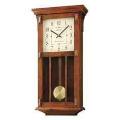 Seiko Mission Pendulum Wall Clock - 12.5-in. Wide - QXH045BLH