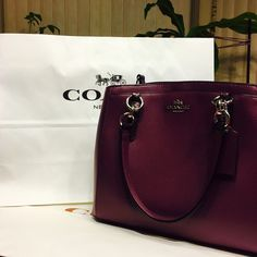 ✨Brand New! Coach Exotic Trim Minetta in Plum The most versatile Minetta in gorgeous dark purple with intricate exotic lining. Classy, simple and yet still functional, this little Baggie can hold all ur essentials without missing out on any class :) comes with cross body/shoulder strap Coach Bags