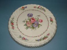 Edwardian Royal Staffordshire Pottery Bread Plate