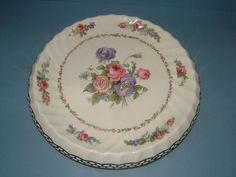 Edwardian Royal Staffordshire Pottery Bread Plate