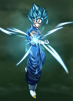 Vegito Ssj Blue, Tim Burton Batman, Twitter Link, Anime Warrior, Blue Wallpapers, Dbz, Dragon Ball, Drawings, Colors