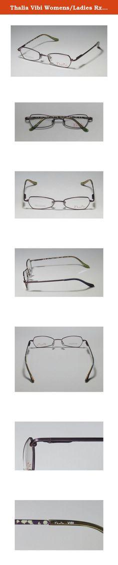 61237e59b405 Thalia Vibi Womens Ladies Rx Ready New Collection Designer Full-rim  Flexible Hinges Eyeglasses