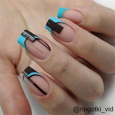 Amazing 2020 Nail Fashion Trend Ideas, Must Have Your Favorite - Page 150 of 152 - Inspiration Diary Classy Nails, Stylish Nails, Trendy Nails, Nail Manicure, Gel Nails, Acrylic Nails, Coffin Nails, Square Nail Designs, Nail Art Designs