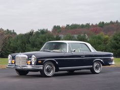 1970 Mercedes-Benz 280 SE 3.5 coupe