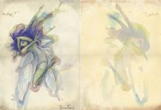 Pressed Fairy by Brian Froud  http://www.worldoffroud.com/books/cottington.php