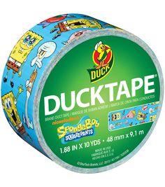 Duck SpongeBob Tape 1.88''x10 yds