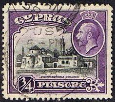 Cyprus 1934 King George V SG 135 Fine Used Scott 127 Other European and British Commonwealth Stamps HERE!
