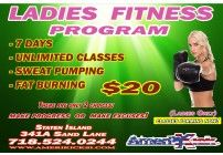 Today's Deal: Unlimited Kickboxing Classes for 1 Full week for $20