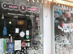 La boutique Henry et Henriette à Nantes