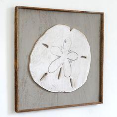 Haven America - Framed Sand Dollar Wall Decor, $85.00 (http://www.slippinsouthernshop.com/framed-sand-dollar-wall-decor/)