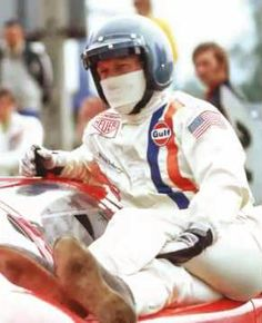 Steve McQueen: Le Mans in the Rearview Mirror by Don Nunley with . Mc Queen, Steve Mcqueen, Le Mans, Captain America, Superhero, Gentleman, Youtube, Daddy, Mac