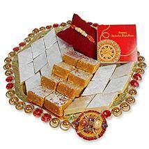 Sweets & Traditional Rakhi Hamper