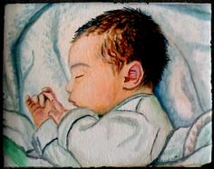 Mi niña Lucía (óleo sobre lienzo 2009)