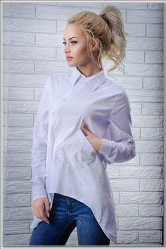 """Стильная рубашка оригинального кроя: продажа, цена в Одессе. блузки и туники женские от """"Интернет-магазин стильной одежды """"x04y"""""""" - 472549271"""