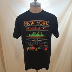 90s New York City vintage tshirt by Sentimo, Jerzees size XL — Made in USA