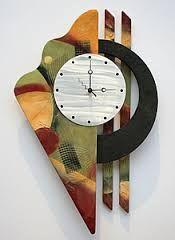 Resultado de imagen para art wall clock