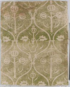 printed linen, Rheinland