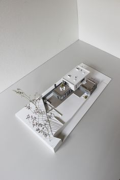 Scale model of house for SULYK Architects on Behance