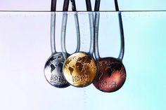 BCN 2013 Swimming World Championships Medals, Barcellona, 2013 - Lagranja Design