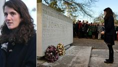 Caroline Kennedy's 23 year old daughter Tatiana Schlossberg was the family representative at the Runnymede memorial in Surrey, Uk, today for the 50th memorial of her grandfather JFK's assassination. She is the middle child of Caroline. Her older sister Rose is 25 and her younger brother Jack is 20.