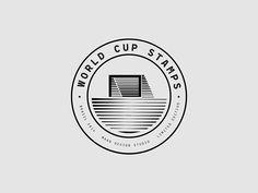 World Cup Stamps, por Maan Design Studio – Cosas Visuales