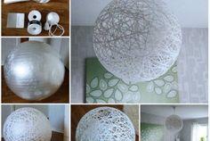 Giant String Lamp