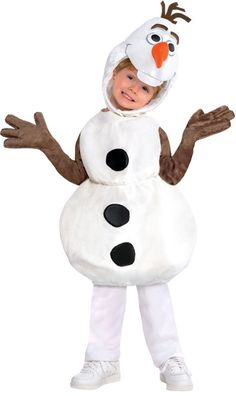 Toddler Boys Olaf Costume - Frozen - Party City