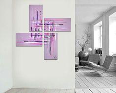 50x50 large painting by Jo Diquez